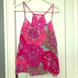 EUC Lilly pulitzer worth it dusk top, size med